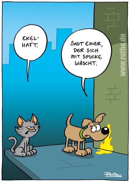 Cartoon, lustig