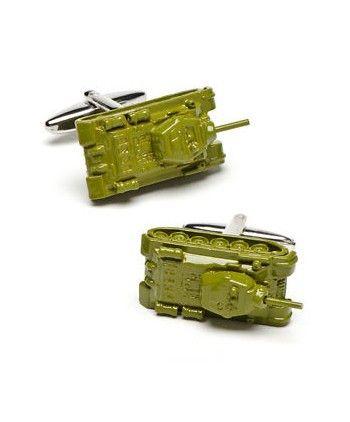 Gemelos para camisa tanque verde