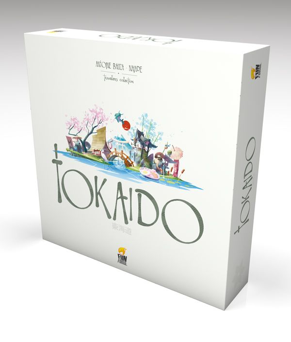 Tokaido : la boite