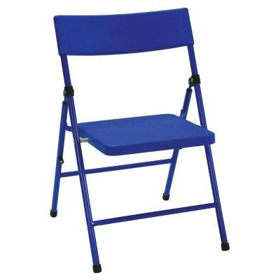 Kids 5 Piece Folding Chair and Table Set - Red/Yellow/Blue - Cosco,