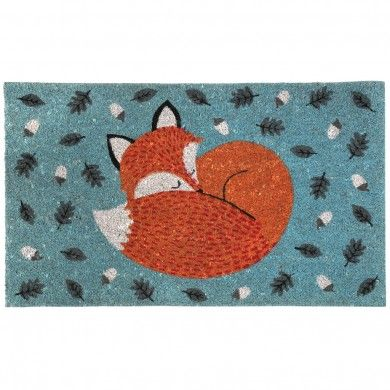 Nonslip  Doormat Rusty The Fox