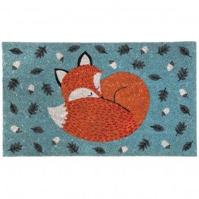 Nonslip  Doormat Rusty The Fox