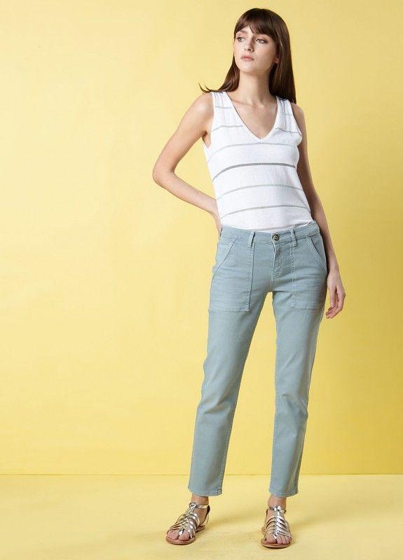 Pantalon pydney neptune - pantalons femme - sud express 1