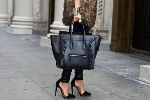 Celinebag#shoes#black