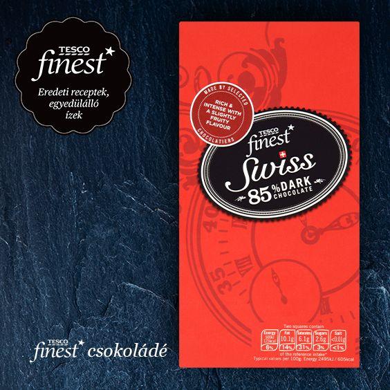 Add át magad a Tesco finest* különleges, prémium minőségű csokoládéinak! #TescoMagyarország #Finest #csoki #csokolade #tesco