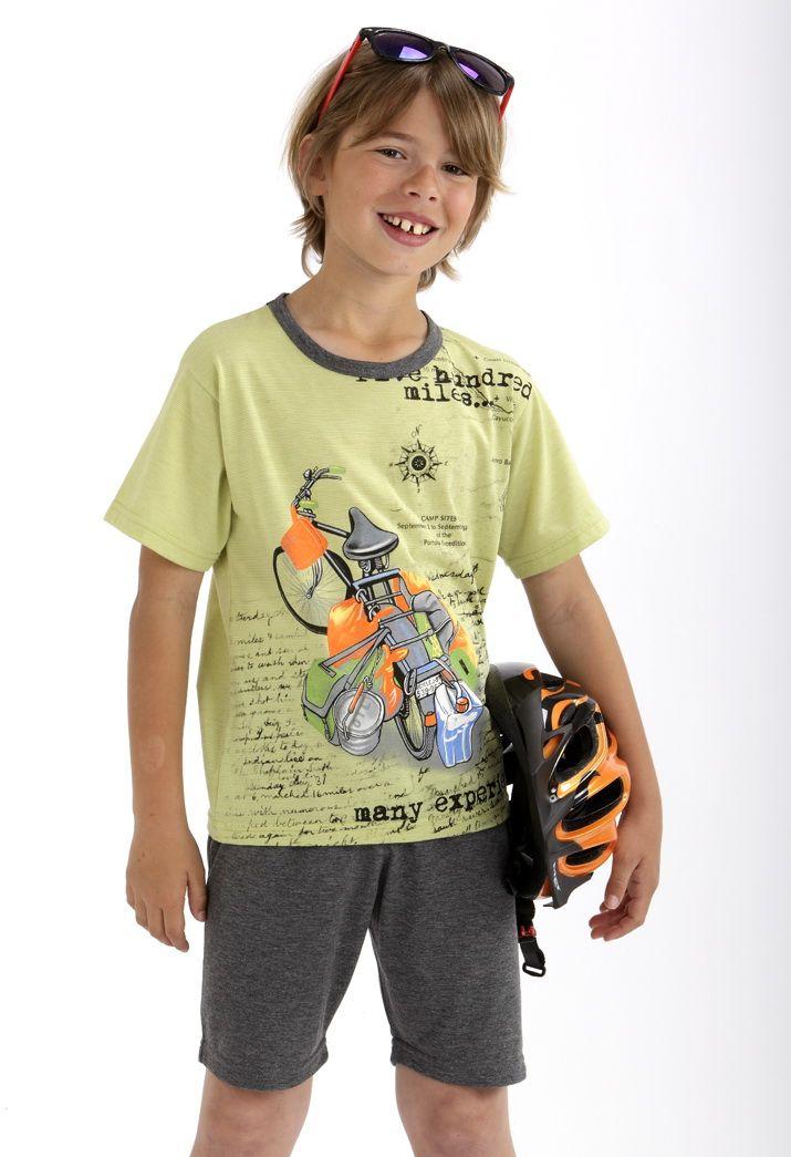 Pijama corto niño #Massana #Boy #MassanaKids #MassanaHomewear