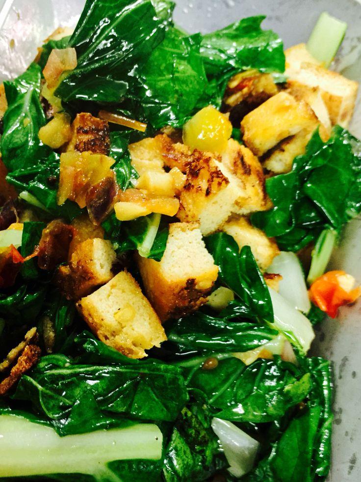 Bok Choy-Tofu Stir Fry