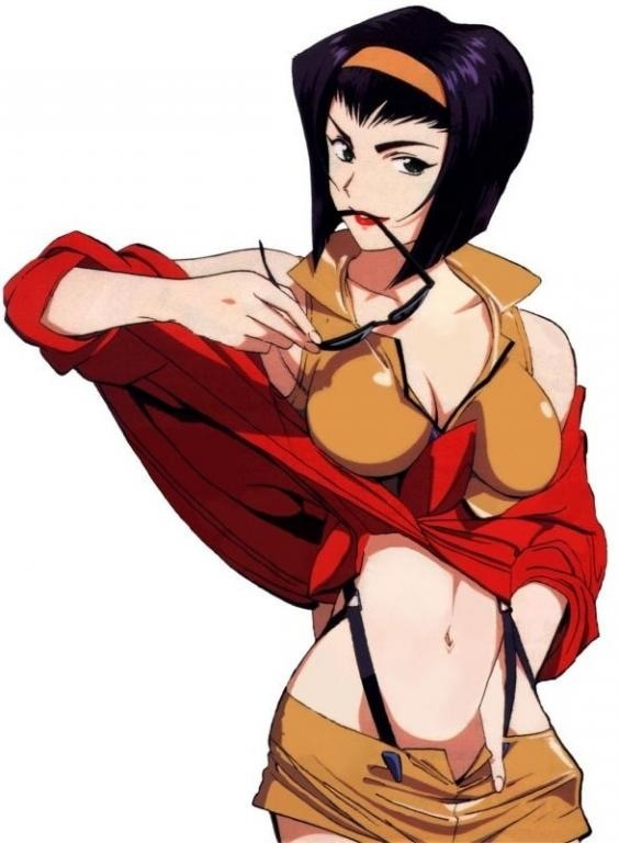 Faye Valentine (Cowboy Bebop) - see more anime at: www.cartoonanimefans.com