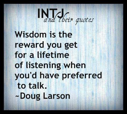 INTJ quotes