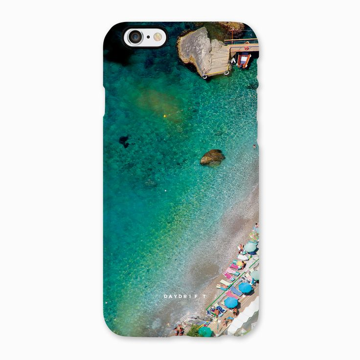 Blue water of Capri, Italy. Limited edition luxury iPhone 5 and iPhone 6 Phone Cases featuring a Daydrift photograph of Capri, Italy