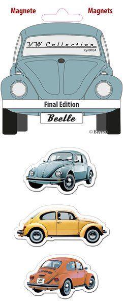 The Original VW Beetle Magnets-Final Edition