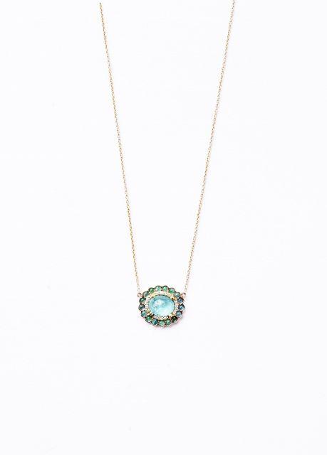 78 Best Ideas About Tourmaline Necklace On Pinterest
