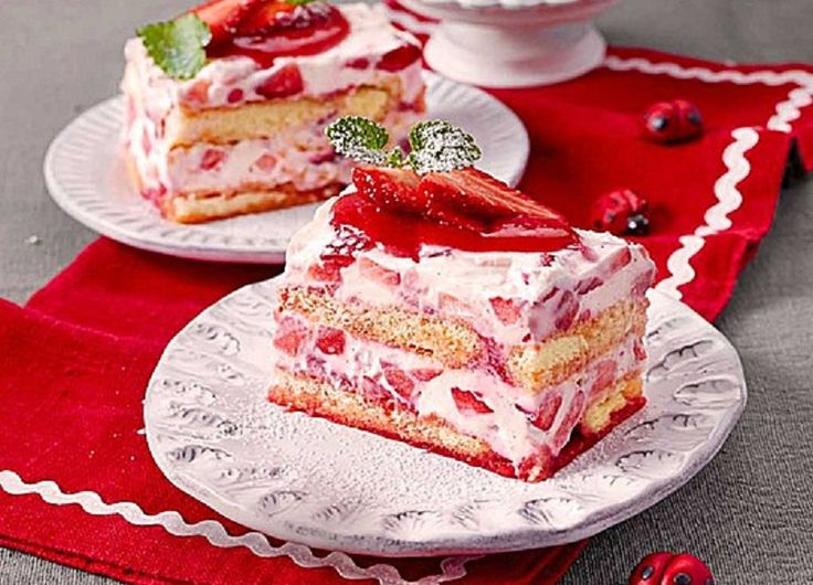 Geheime Rezepte: Erdbeertiramisu