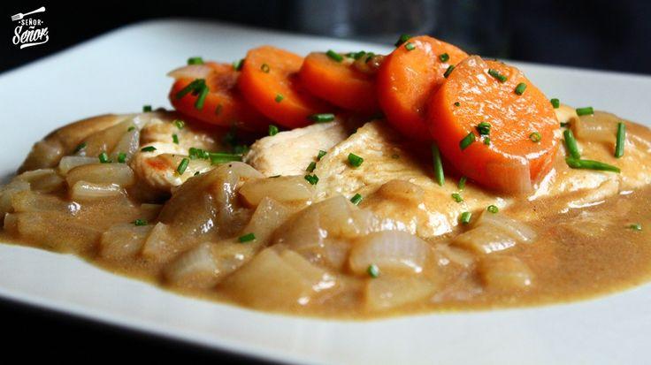 La receta de hoy es una delicia, pollo a la mostaza de estragón con zanahorias. Este pollo no puede ser más fácil de hacer ya que en unos 15 o 20 minutos lo tenemos hecho. Creo que el pollo ...