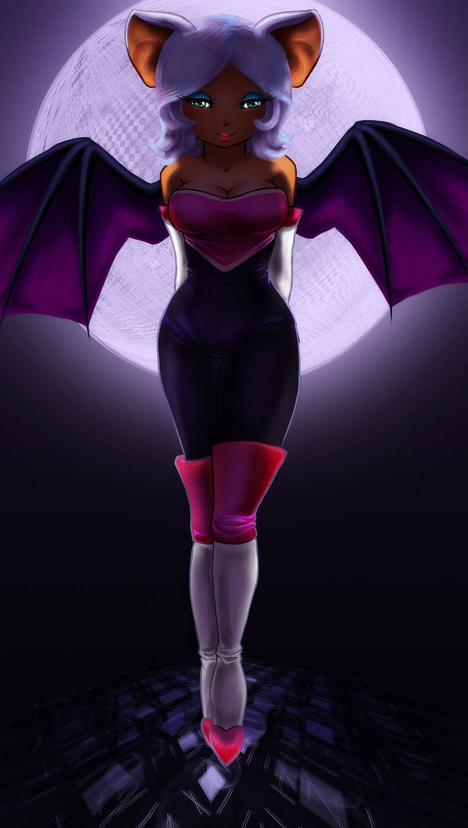 Rouge human form
