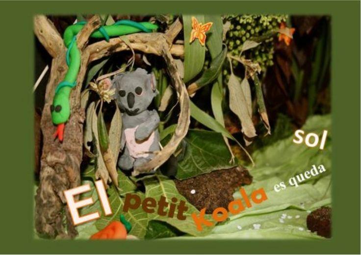 El petit koala es queda sol. És un conte que treballa la por. Pertanys al Cd Emocions i sentiments de Dàmaris Gelabert
