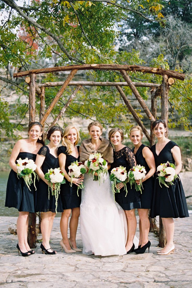 Black dress bridesmaid - Find This Pin And More On Little Black Dress Bridesmaids
