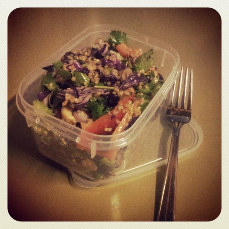 Naturally Kenko: Quinoa crunch!