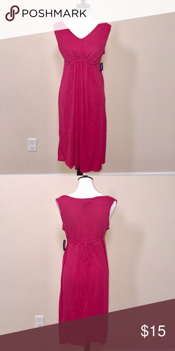 Pink Maternity Dress Pink Maternity Dress | Brand new; never worn Old Navy Dresses