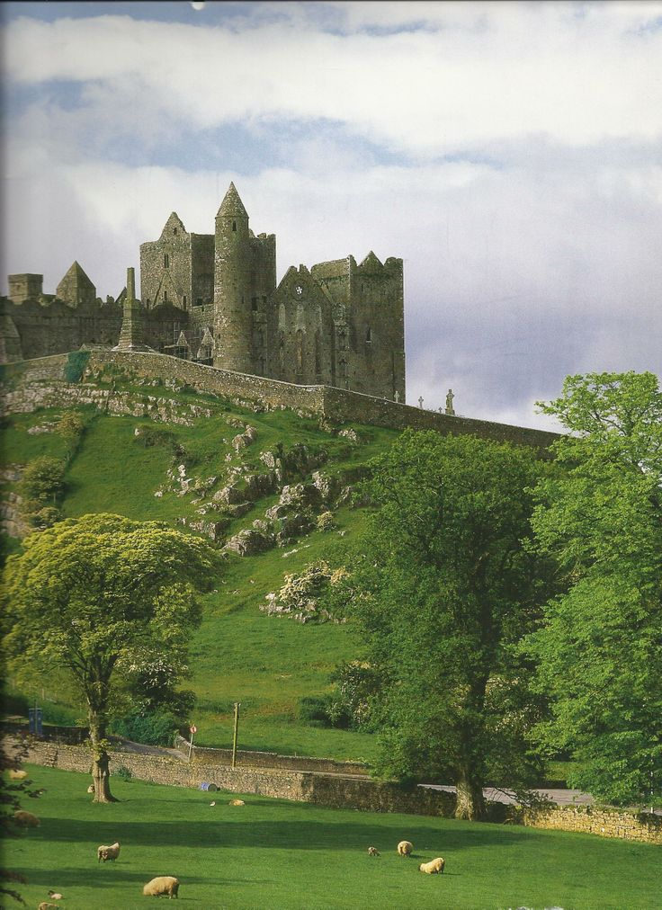 The Rock of Cashel. Built by Brian Boru, the last high king of Ireland…