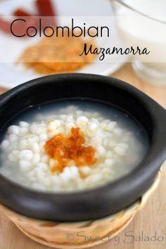 Colombian Mazamorra // Mazamorra Colombiana