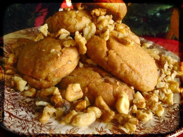 Μelomakarona(Μελομακάρονα) christmas cookies