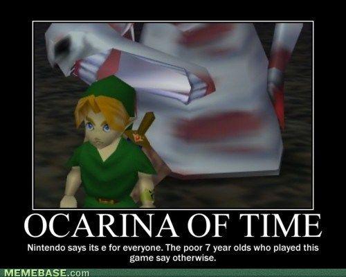 Zelda Meme: Dead Hand was hands down (no pun intended) the scariest boss in OOT. #meme #zelda