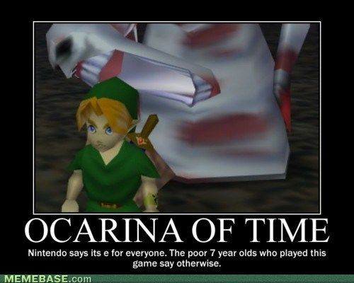 Zelda Meme: Dead Hand was hands down (no pun intended) the scariest boss in OOT. #meme #zelda