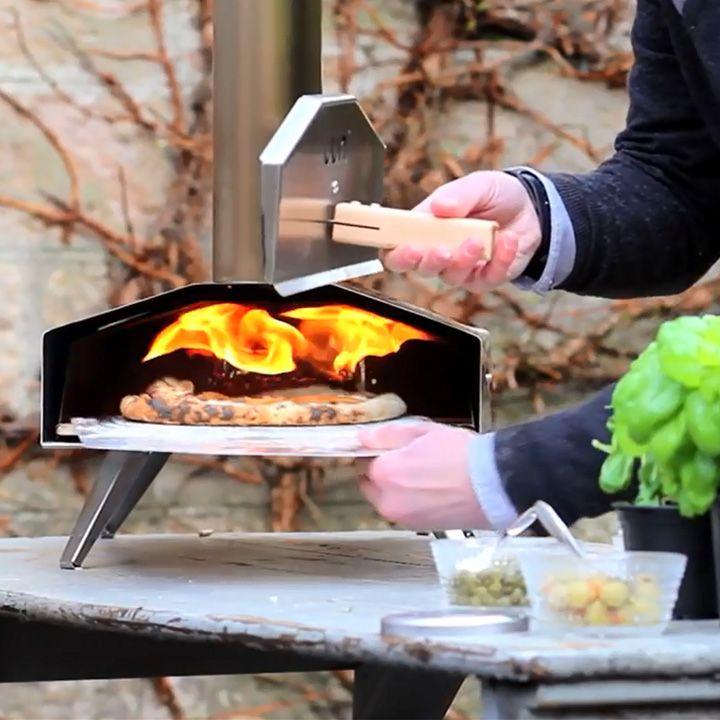 Uuni2S カンタン90秒!美味しいピザが屋外で楽しめる本格ペレットオーブン。