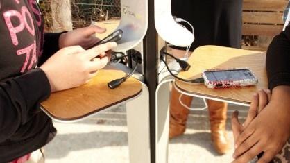 Cargadores Publico alimentados por energía solar