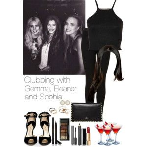Clubbing with Gemma, Eleanor and Sophia