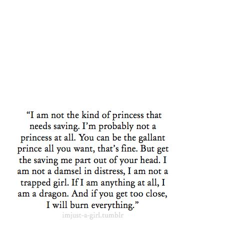 Love this! Trying to teach my daughter she is her own prince charming and can rescue herself.