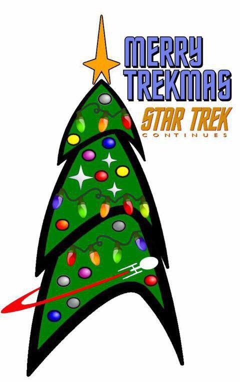 A Very Merry Star Trek Christmas! #startrek #trekkers (wish I had seen this…
