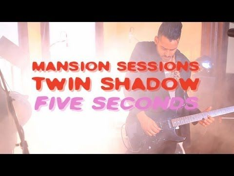 """Twin Shadow performing """"Five Seconds"""" in an abandoned mansion in Brooklyn? It doesn't ROCK any better than this friends!"""