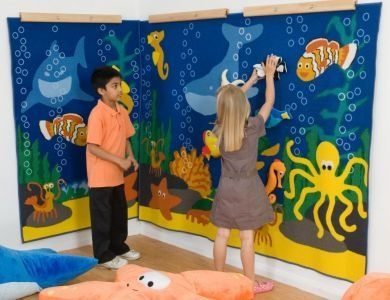 under the sea classroom | wide wall display location under the sea range wall displays