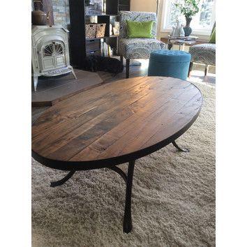 Mercury Row Oval Coffee Table & Reviews   Wayfair