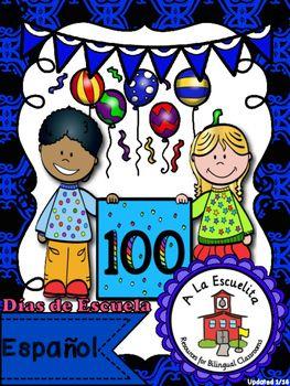 100 Días de Escuela   Click below for a video preview:  https://youtu.be/r1AmQKMxrzk