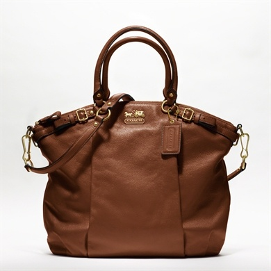 COACH Madison Leather Lindsey Satchel. Perfect!