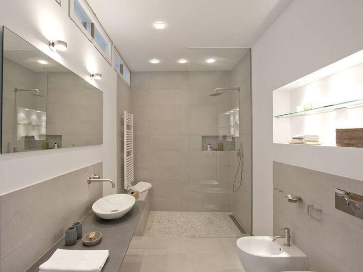 Wandnische in Dusche als Ablage