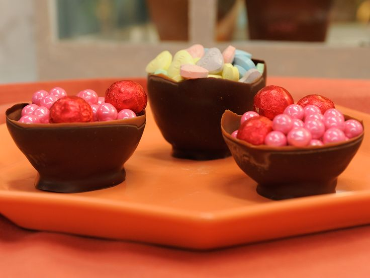Chocolate Balloon Bowls recipe from The Kitchen via Food Network