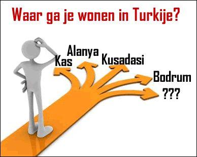 waar ga je wonen in Turkije?