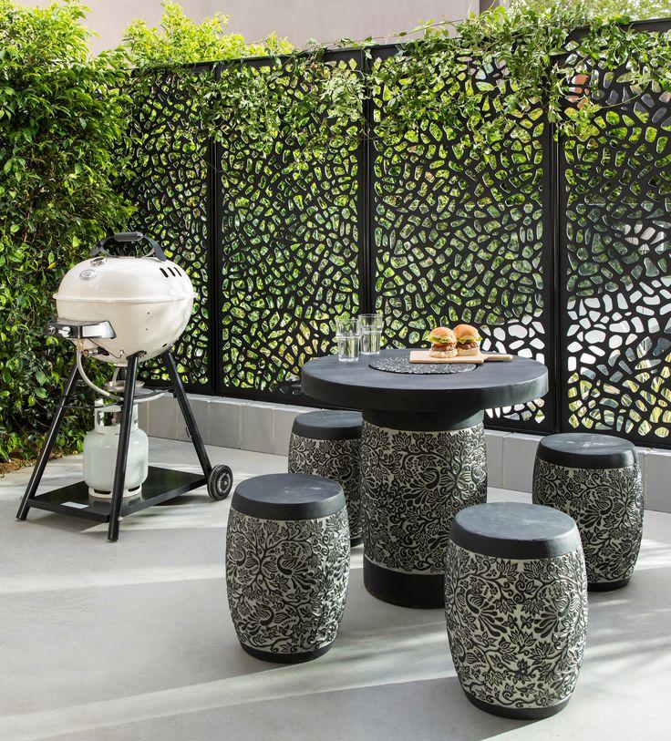 Outdoor wall art bunnings deisgn flow lattice and for Outside lattice ideas