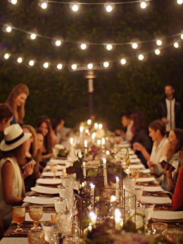 25 Best Ideas About Outdoor Dinner Parties On Pinterest