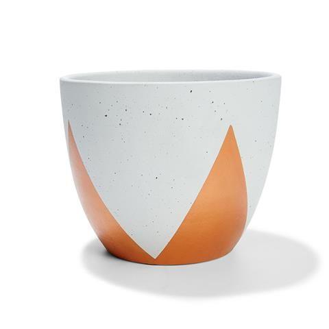 Triangle Cachepot - Terracotta | Kmart