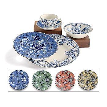 "Ross-Simons - 20-pc + 4 Bonus Plates Wedgwood ""Devon Cottage"" Dinnerware by Johnson Bros."