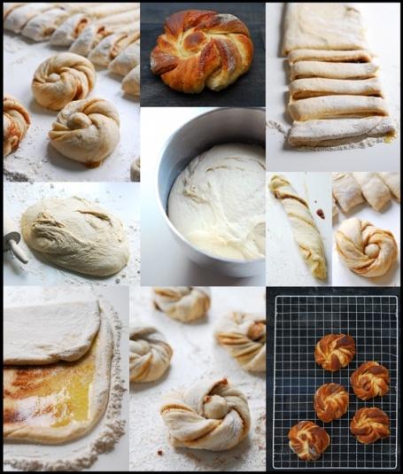 Easy, Delicious Cinnamon Buns (google translate into English)
