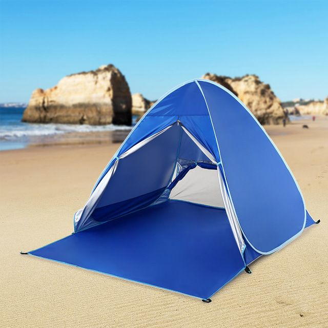 Lixada Camping Tents Sun Shelter Automatic Pop Up Beach Tent Fishing Cabana For 2 3 Person Awning Tent Uv Protection Beach Shade Review Beach Tent Beach Shade Pop Up Beach Tent