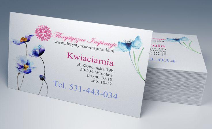 Florystyczne Inspiracje Business Cards