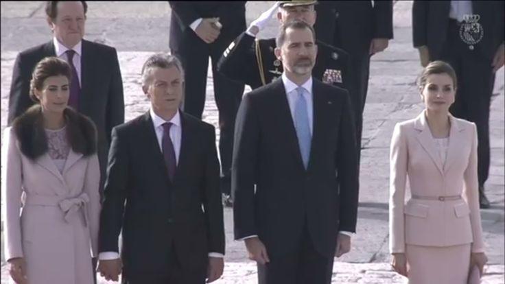 Rey Felipe VI recibe Presidente Argentina Palacio Real