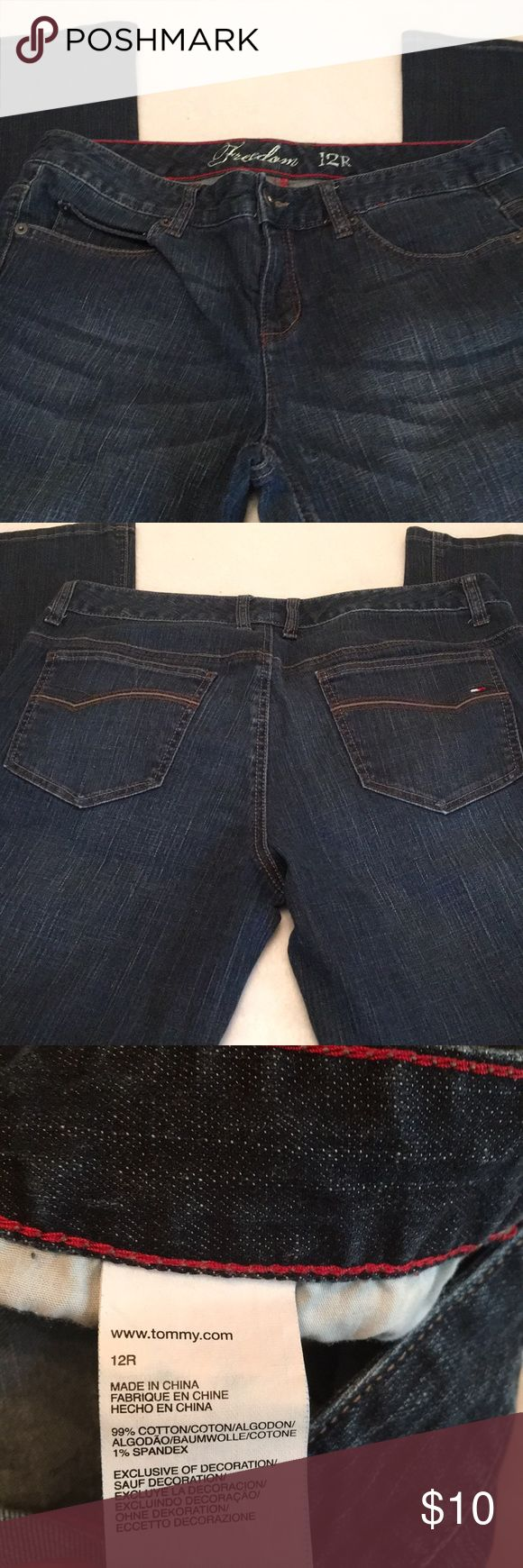 Tommy Hilfiger Jens Tommy Hilfiger Jeans size 12R Bootcut. Great Condition, submit offers through offer button. All offers considered Jeans